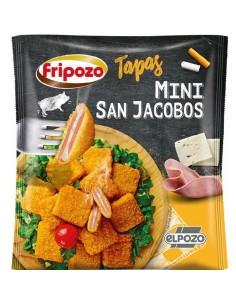 Mini san jacabo de jamón y queso
