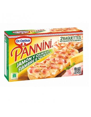 Pannini jamón y queso