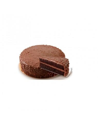 Tarta crunch chocolate y almendras